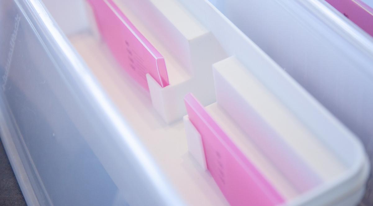 計量機能付きスパゲティ保存容器の写真2
